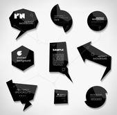 Labels — Stock Vector