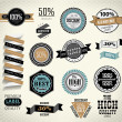 Premium Quality, Guarantee and sale Labels — Stock Vector #35460795