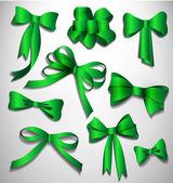 Vector bow collection. — Stock Vector