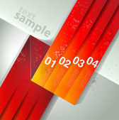 Abstract line background. Design template — Stock Vector
