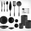Kitchenware set — Stock Vector