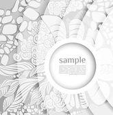 Rozostření pozadí abstraktní s bílým světlem — Stock vektor