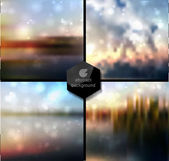 Abstract Vector blur background — Stock Vector