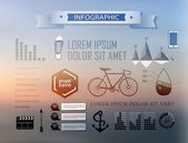 Set elements of infographics — Stock Vector