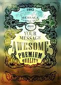 Qualidade premium — Vetor de Stock