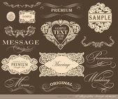 Diseño caligráfico — Vector de stock