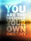 Quote Typographical Background, vector design. — Stockvektor