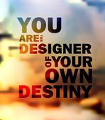 Quote Typographical Background, vector design. — Stock Vector