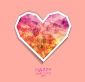 Felice giorno di san valentino — Vettoriale Stock
