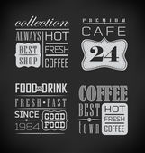 Poster lettering take coffee — Stock Vector