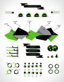 Set elements of infographics — Stock Vector