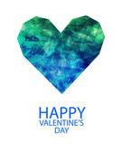 Gelukkige valentijnskaarten dag — Stockvector
