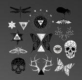 абстрактный готика — Cтоковый вектор