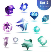 icon set   for wesite, info graphic — Stock Vector