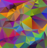 Abstract modern background with polygons design — Stock Photo
