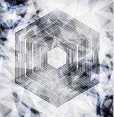 Abstract modern pixel background. Design modern — Stock Photo