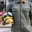 Construction worker on site — Stock Photo #36067247