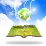 Green earth concept — Stock Photo #37560153