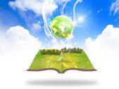 концепция зеленая земля — Стоковое фото