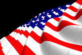 USA flag background — Stock Photo