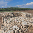 Megiddo ruins, Israel — Stock Photo
