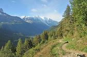 Tour de Mont Blanc path — Stockfoto