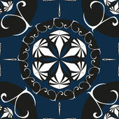 Intricate Ornate Seamless Pattern. Vector Illustration — Stock Vector