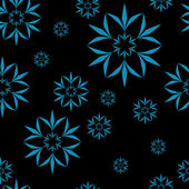 Amazing flower seamless pattern. Vector illustration — Vector de stock