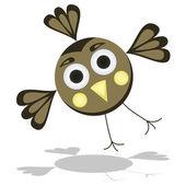 забавный мультфильм птицы векторные иллюстрации — Cтоковый вектор