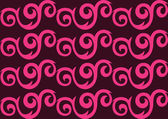 Pink ornate seamless pattern — ストックベクタ