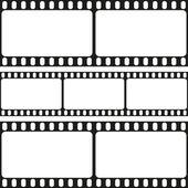 Film strips seamless pattern — 图库矢量图片
