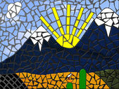 Mosaik — Stockfoto