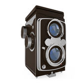 Vintage film kamera — Stok fotoğraf