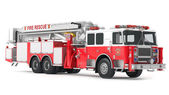 Fire truck isolated — Stock Photo
