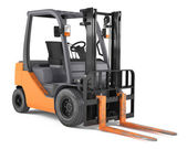 Forklift isolated — Stock Photo