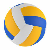 Volleyball ball isolated — Stock Photo