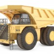 Stock Photo: Dumper isolated