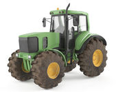 Tractor isolated — Stock Photo