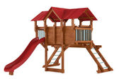 Playground isolated — Stock Photo