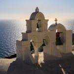 Постер, плакат: Aegean sea cycladic volcanic island of Santorini
