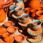 Постер, плакат: Ceramic mugs cups and pots