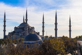Sultan Ahmed Mosque, Istanbul Turkey — Stock Photo