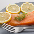 Red trout fillet — Stock Photo