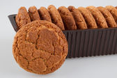 Havermout cookies — Stockfoto