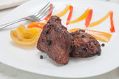 Fried beef — Stock Photo
