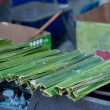 Стоковое фото: Thai sweetmeat made of flour, coconut and sugar,Khanom jak