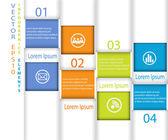 Stick Infographic Vector Illustration — Vector de stock