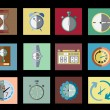 Timer Set Icon Vector Illustration — Stock Vector