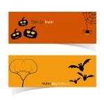 Abstract Halloween Banner — Stock Vector #49595181