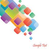 コピー スペースでスタイリッシュなビジネス テンプレート — ストックベクタ